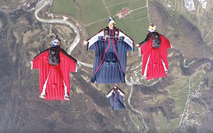 RedBull Skydive Team: FREAKs
