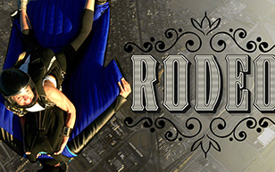 Five Wingsuit Rodeos
