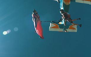 Wingsuit Bungee